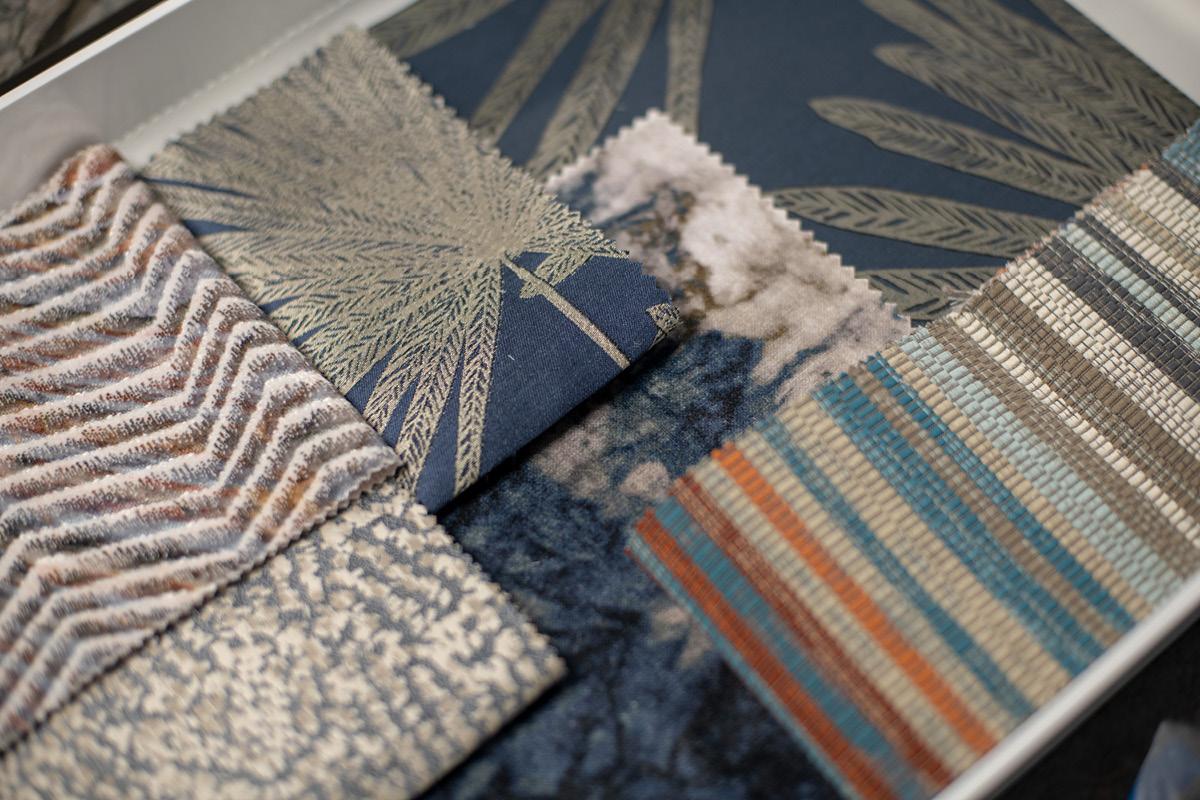 Interior Design - fabrics